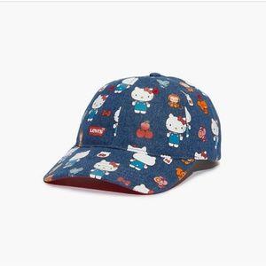 Levi's X Hello Kitty Baseball Cap Denim